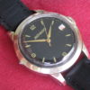Movado Vintage Rose Gold on Steel Automatic Wrist Watch w/Date