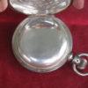 Vintage Illinois 18s 15j Pocket Watch, 5 oz Sterling Silver Hunting Case