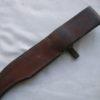 Frank Centofante Tampa FL Custom Handmade Bowie Knife w/Left Handed Sheath
