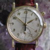 Longines 12.68Z Vintage Gold Filled One-Button Flyback Chronograph Wrist Watch