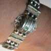 Fancy Abalone and Sterling Silver Bracelet