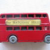 Vintage Matchbox No. 5 London Transport Bus