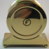 Chelsea Brass Marine Style Quartz Mantel Clock