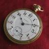 Vintage Elgin 18s 21j Grade 349 Railroad Pocket Watch