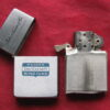 Zippo Lighter 1960 Advertising Nuveen Tax-Exempt Bond Fund