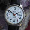 Wyler Incaflex Dynawind Automatic Stainless Steel Railroad Approved Wrist Watch