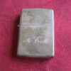 Zippo Lighter 2004 Solid Sterling Silver, Never Been Fired