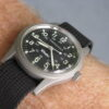 Hamilton Khaki 9415A Manual Wind Stainless Steel Military Style Field Watch