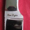 Don Lozier Custom Handmade Small Drop Point Hunting Knife, Pearl Handle