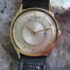LeCoultre Vintage 14K Yellow Gold Manual Wind Pointer Date Wrist Watch